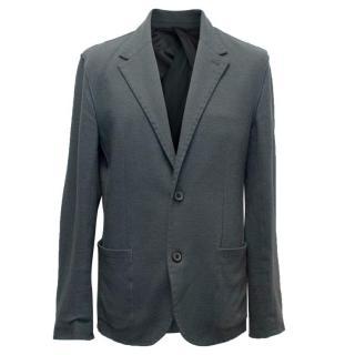 Lanvin Men's Grey Relaxed Fit Blazer