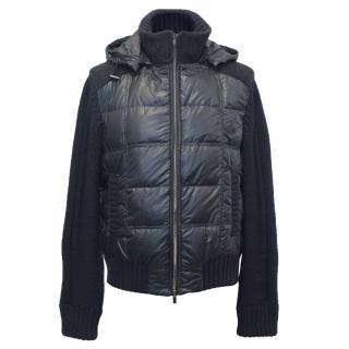Fendi Men's Navy Blue Puffer Jacket