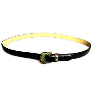 Longchamp Calf Leather Belt