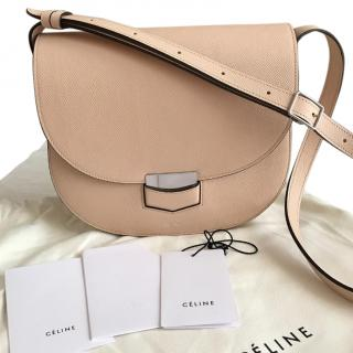 Celine Troutter Powder Pink Compact Bag