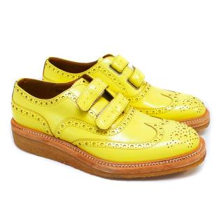 Weber Hodel Feder Men's 'Sacramento' Yellow Brogues