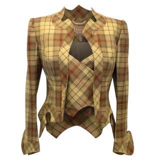 Vivienne Westwood Tarten New Freddy Frame Jacket