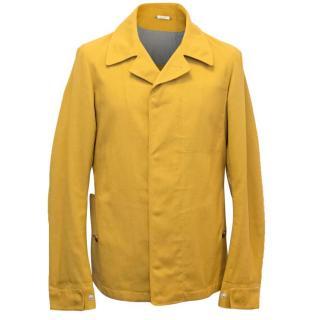 Jil Sander Men's Mustard Yellow Jacket