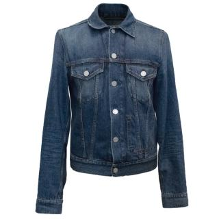 Acne Men's Blue Denim Jacket