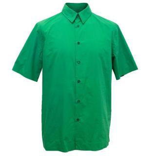 Marni Men's Green Short Sleeved Shirt