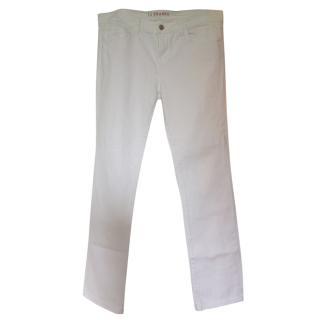 J Brand Essential White Jeans