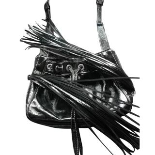 Dolce and Gabbana Patent Leather Tassel Bag