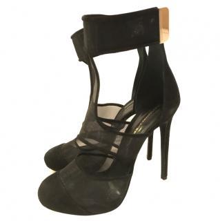 Ermano scervino black heels