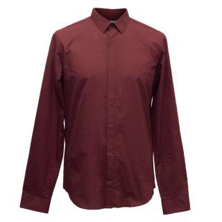 Sandro Men's Oxblood Shirt