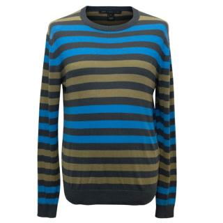 Marc by Marc Jacobs Men's Multicolour Striped Jumper