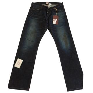 PRPS Mens Dark Indigo Jeans