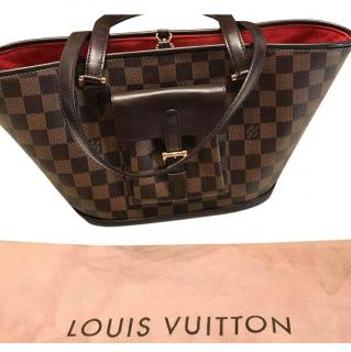 Louis Vuitton Damier Ebene Manosque PM Tote Bag