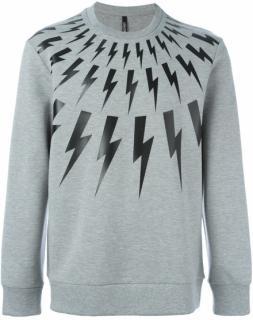 Neil Barrett Men's Thunderbolt Sweatshirt