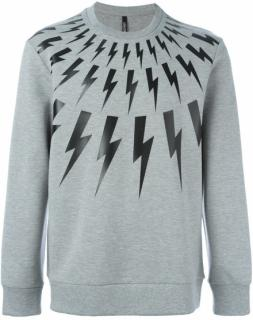 Neil Barrett Men's Thunderbolt Sweatshirt