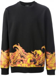 Givenchy Flame Print Sweater