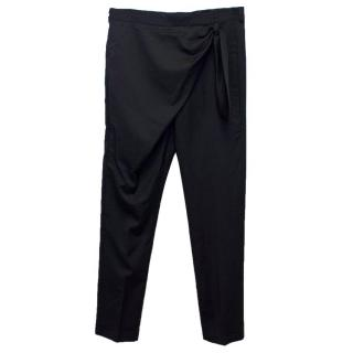 J.W Anderson Men's Black Wool Suit Trousers