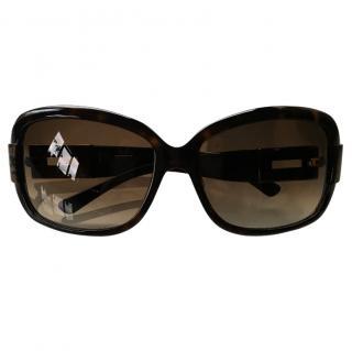 Jimmy Choo Tortoise Shell Sunglasses