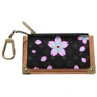 Louis Vuitton Takashi Murakami Cherry Blossom Cles Pochette