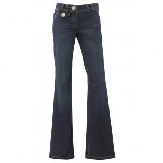 Laurel Navy Denim Boot leg Jeans