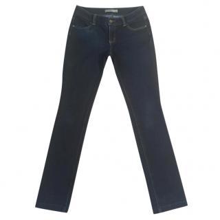 Serafontaine dark indigo blue slim fit stretchy jeans