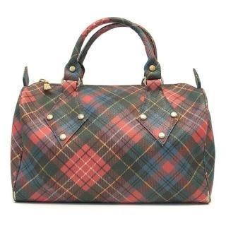 Vivienne Westwood Tartan Bag