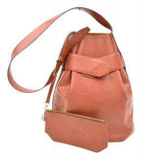 Louis Vuitton D'Epaule Light Brown Epi  Shoulder Bag 10350