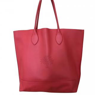 Mulberry Red Tote Bag