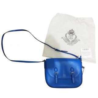 Ralph Lauren Leather Blue Bag