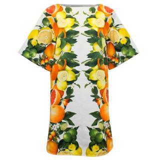 Stella McCartney Fruit Print Shift Dress