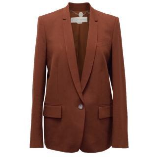 Stella McCartney Brick Red Blazer