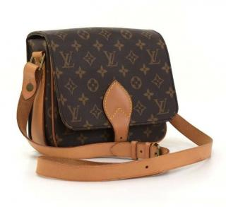 Louis Vuitton Cartouchiere Monogram Shoulder Crossbody Bag 10358