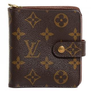 Louis Vuitton Compact Wallet Monogram 10338