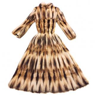 Roberto Cavalli Ferret Fur Coat