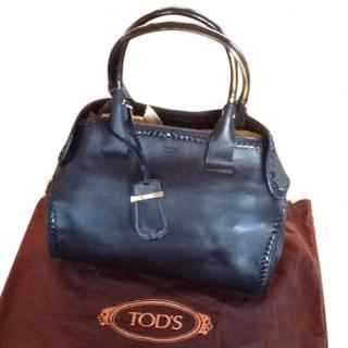 Tod's Small Black Leather Bag