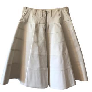 Alaia White Skirt