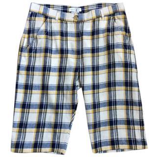 Isabel Marant check long shorts M