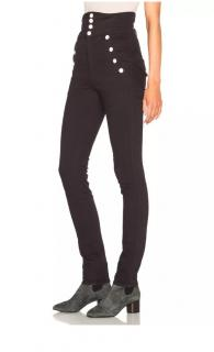 Isabel Marant black Marvin high waisted jeans