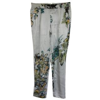 Iceberg (Gilmar) silk trousers It 40 RRPgbp1500