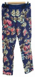 Antonio Marras Blue floral trousers, Size M