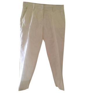 Byblos white trousers