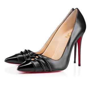 5bce25b38cea Christina Louboutin Front Double Heels