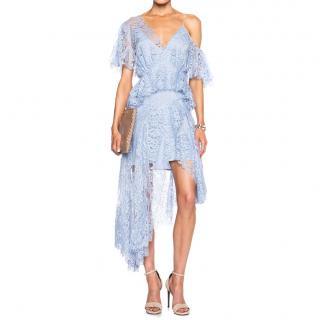 Zimmerman blue lace dress