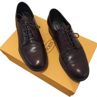 Tod's Brown Leather Brogues