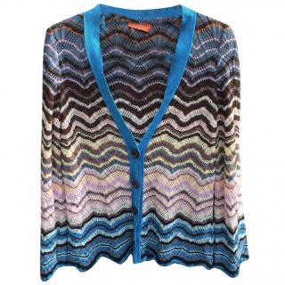 Missoni knitted multicolour cardigan