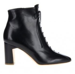 Rupert Sanderson Zadara Black Leather Ankle Booties/Boots