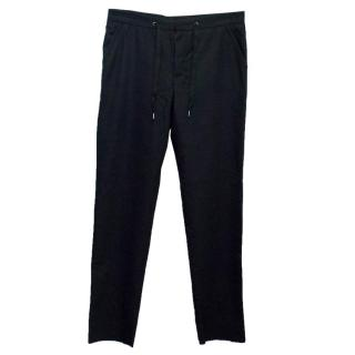 Maison Martin Margiela Men's Black Wool Trousers