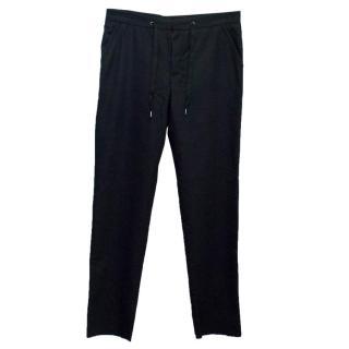Maison Martin Margiela Men's Black Wool Trousers