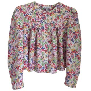 See by Chloe Silk/Cotton Floral blouse