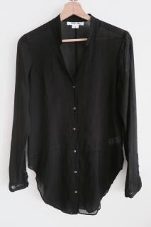 Helmut Lang Womens Lawn Cotton Button Down