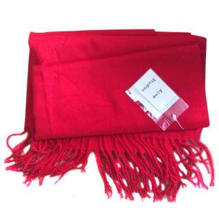 Acne Studios Red Scarf